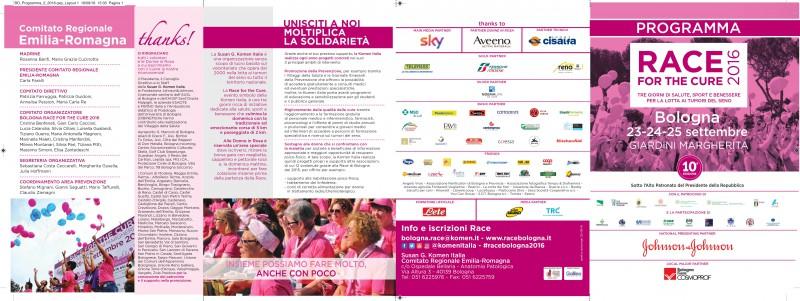 Race for the cure 10 edizione bologna giardini for Programma progettazione giardini