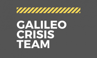 GALILEO CRISIS TEAM AT WORK