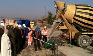 Posa della prima pietra per il nuovo stabilimento KEMET a Pontecchio Marconi